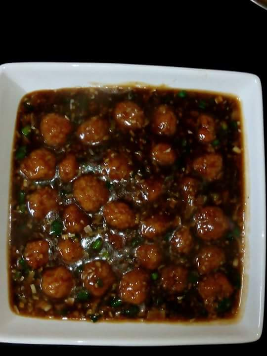 Vegetables manchurian