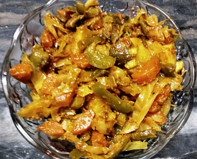 Mix vegetable sabzi