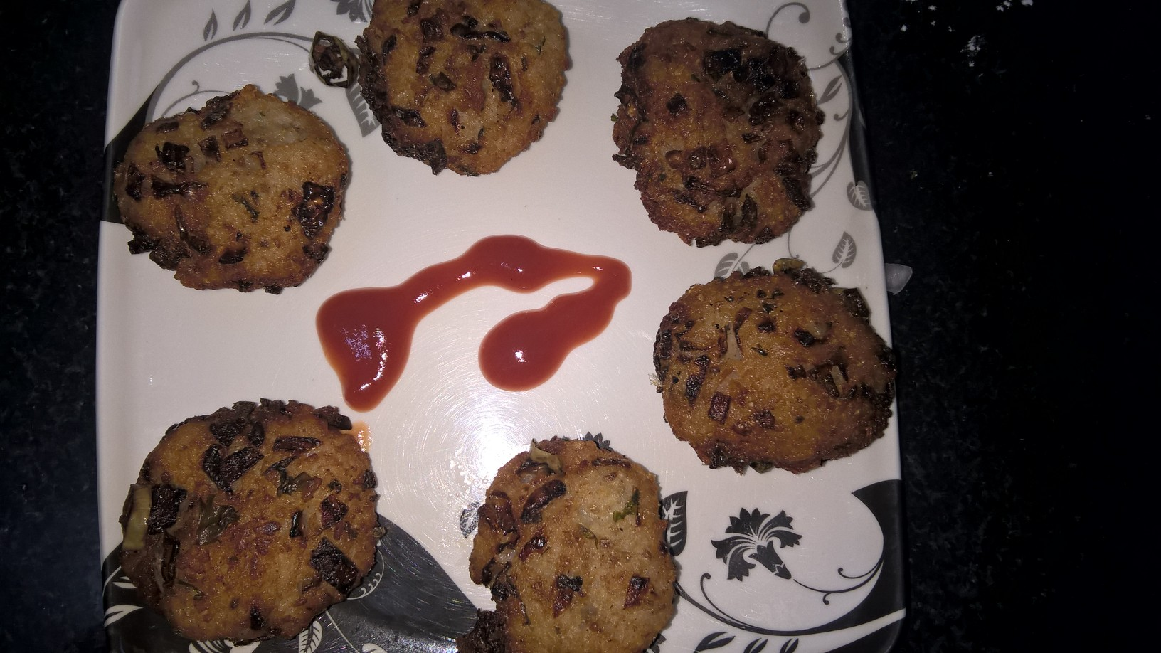 Rice Tikki (from left over rice)
