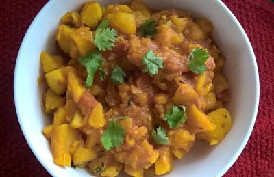 Simple Aloo Sabji