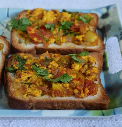 Tomato Spread With Paneer